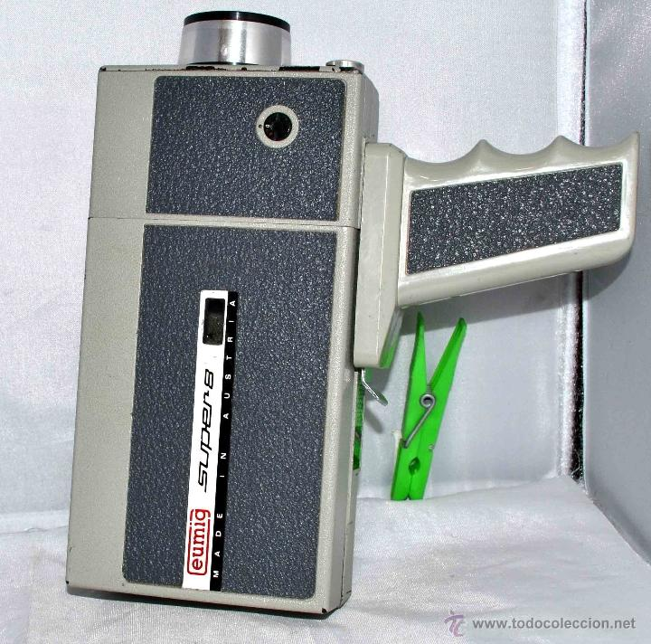 Antigüedades: GRAN CAMARA DE CINE SUPER 8 mm..AUSTRIA 1967..EUMIG EUMIGETTE.....FUNCIONA.. - Foto 3 - 39996298