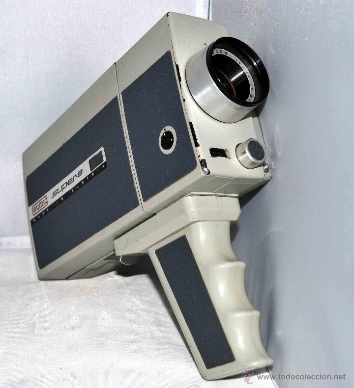 Antigüedades: GRAN CAMARA DE CINE SUPER 8 mm..AUSTRIA 1967..EUMIG EUMIGETTE.....FUNCIONA.. - Foto 4 - 39996298