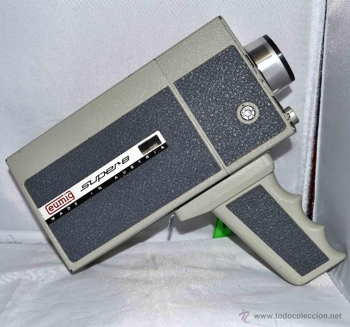 Antigüedades: GRAN CAMARA DE CINE SUPER 8 mm..AUSTRIA 1967..EUMIG EUMIGETTE.....FUNCIONA.. - Foto 7 - 39996298