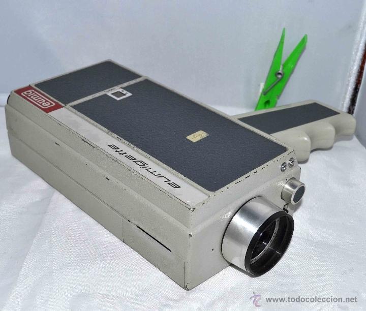 Antigüedades: GRAN CAMARA DE CINE SUPER 8 mm..AUSTRIA 1967..EUMIG EUMIGETTE.....FUNCIONA.. - Foto 8 - 39996298