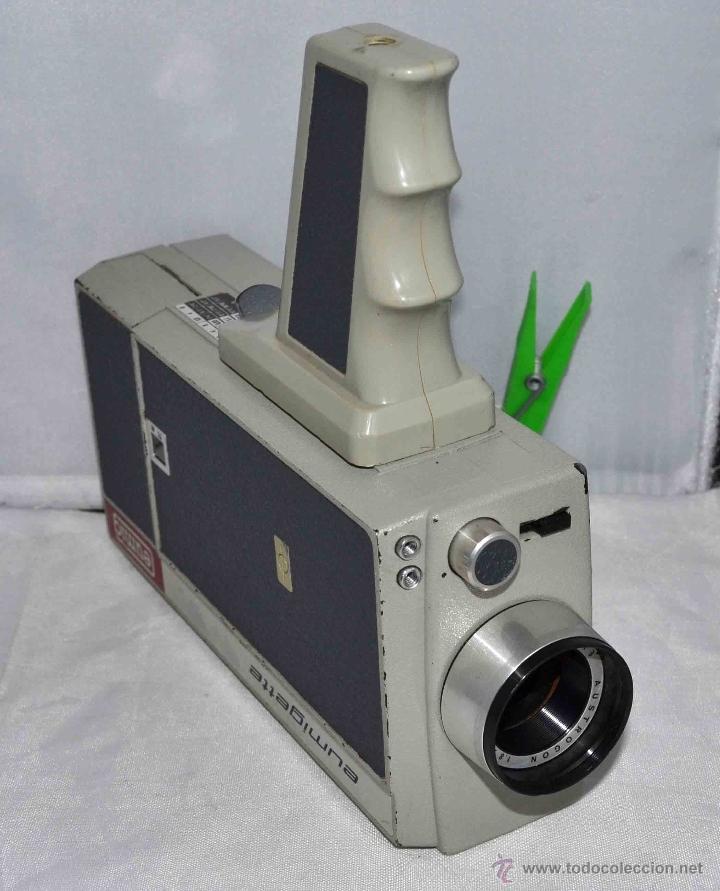 Antigüedades: GRAN CAMARA DE CINE SUPER 8 mm..AUSTRIA 1967..EUMIG EUMIGETTE.....FUNCIONA.. - Foto 9 - 39996298