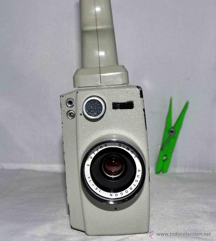 Antigüedades: GRAN CAMARA DE CINE SUPER 8 mm..AUSTRIA 1967..EUMIG EUMIGETTE.....FUNCIONA.. - Foto 10 - 39996298