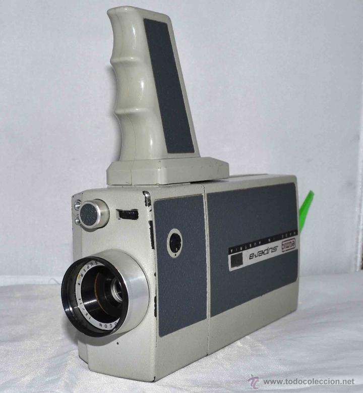 Antigüedades: GRAN CAMARA DE CINE SUPER 8 mm..AUSTRIA 1967..EUMIG EUMIGETTE.....FUNCIONA.. - Foto 11 - 39996298