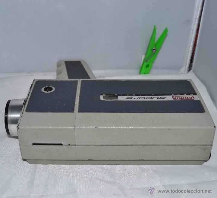 Antigüedades: GRAN CAMARA DE CINE SUPER 8 mm..AUSTRIA 1967..EUMIG EUMIGETTE.....FUNCIONA.. - Foto 13 - 39996298