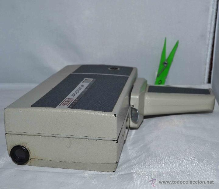 Antigüedades: GRAN CAMARA DE CINE SUPER 8 mm..AUSTRIA 1967..EUMIG EUMIGETTE.....FUNCIONA.. - Foto 15 - 39996298