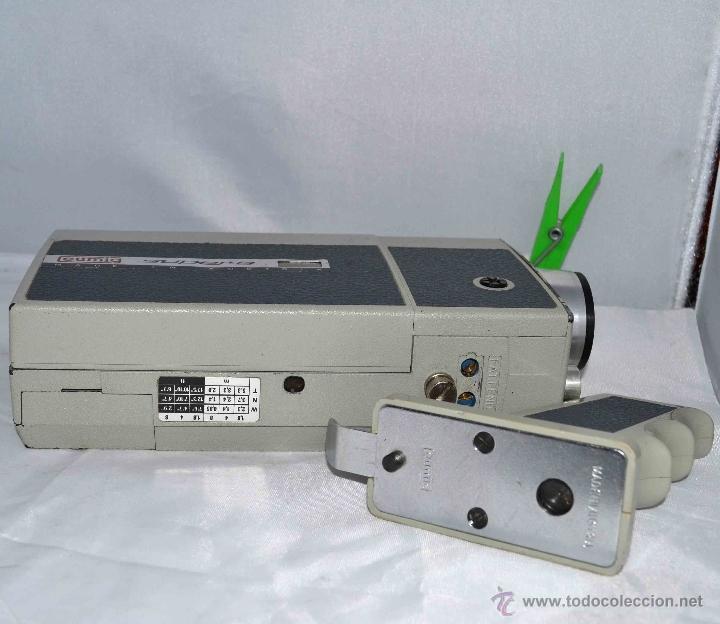 Antigüedades: GRAN CAMARA DE CINE SUPER 8 mm..AUSTRIA 1967..EUMIG EUMIGETTE.....FUNCIONA.. - Foto 16 - 39996298