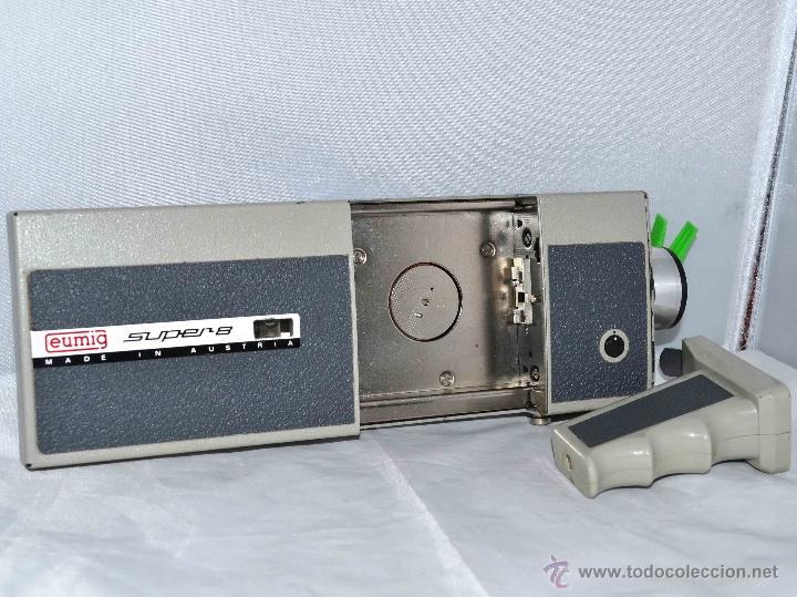 Antigüedades: GRAN CAMARA DE CINE SUPER 8 mm..AUSTRIA 1967..EUMIG EUMIGETTE.....FUNCIONA.. - Foto 18 - 39996298
