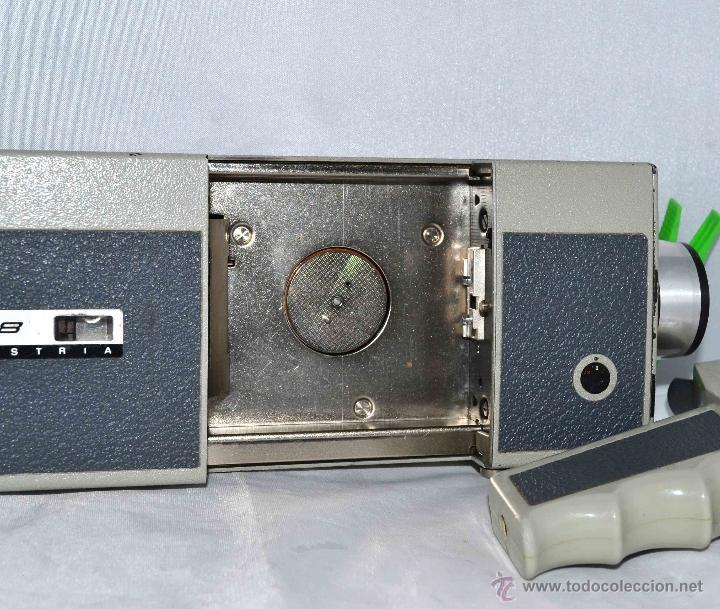 Antigüedades: GRAN CAMARA DE CINE SUPER 8 mm..AUSTRIA 1967..EUMIG EUMIGETTE.....FUNCIONA.. - Foto 19 - 39996298
