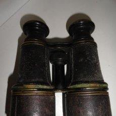Antigüedades: ANTIGUOS PRISMATICOS BINOCULARES EEXTENSIBLES. Lote 40058179