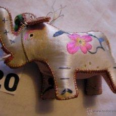 Antigüedades: ELEFANTE DE COSTURA PARA ALFILERES . Lote 40163547