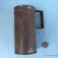 Antigüedades: ANTIGUA MEDIDA DE MEDIO LITRO. Lote 40091788
