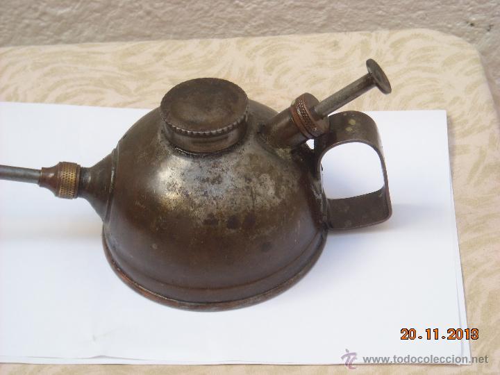Antigüedades: Engrasador de aceite - Foto 2 - 40072112