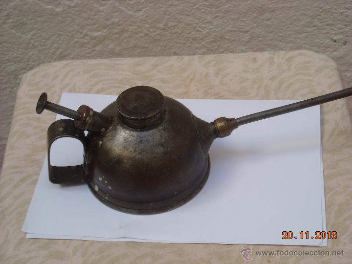 Antigüedades: Engrasador de aceite - Foto 4 - 40072112