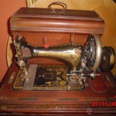 Antigüedades: FANTASTICA MAQUINA DE COSER FRISTER & ROOSMANN. Lote 40089840