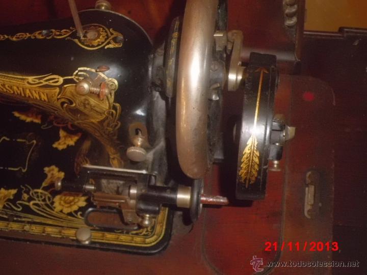 Antigüedades: FANTASTICA MAQUINA DE COSER FRISTER & ROOSMANN - Foto 7 - 40089840
