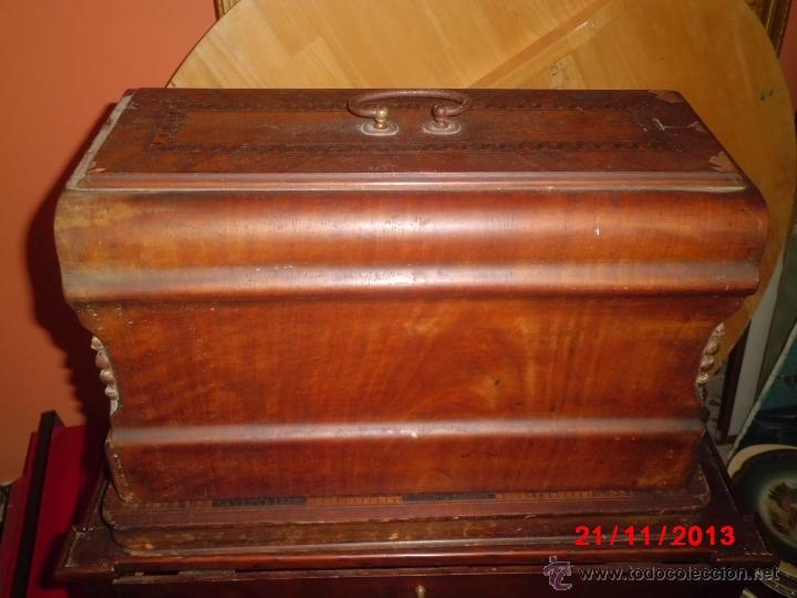 Antigüedades: FANTASTICA MAQUINA DE COSER FRISTER & ROOSMANN - Foto 9 - 40089840