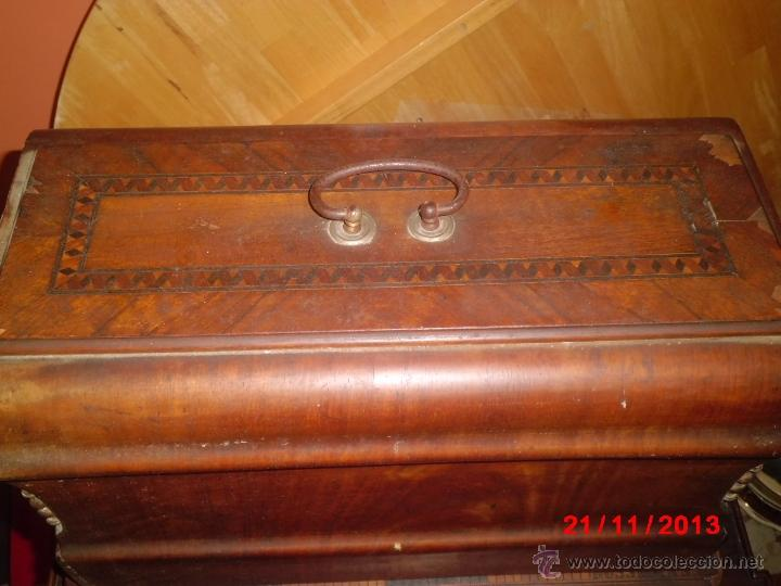 Antigüedades: FANTASTICA MAQUINA DE COSER FRISTER & ROOSMANN - Foto 10 - 40089840
