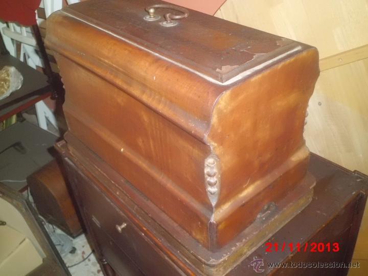 Antigüedades: FANTASTICA MAQUINA DE COSER FRISTER & ROOSMANN - Foto 11 - 40089840
