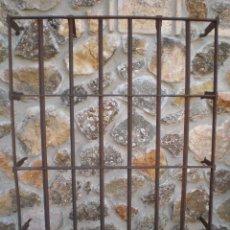 Antigüedades: ANTIGUA REJA DE HIERRO FORJADO, FORJA. Lote 40098393