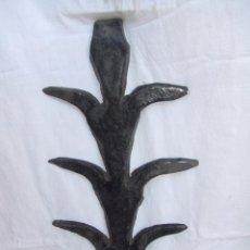 Antigüedades: REJA DE FORJA REIXA LLARGANDAIX AUTENTICA CATALANA 43 ALTO POR 20 ANCHO SIGLO XIX PARA VENTANA . Lote 40131774