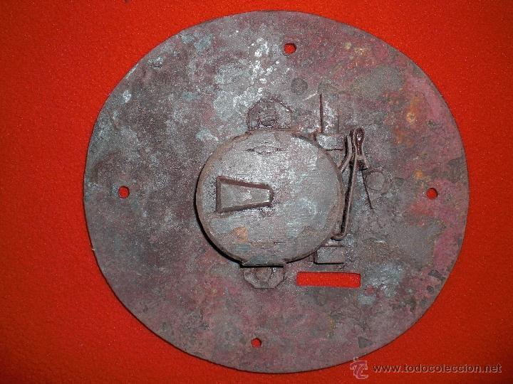 Antigüedades: CERRADURA MUY GRANDE LLAVE Y CERROJO PARA ARCA ARCON O BARGUEÑO FUNCIONA PERFECTAMENTE S XVIII - Foto 3 - 40151375