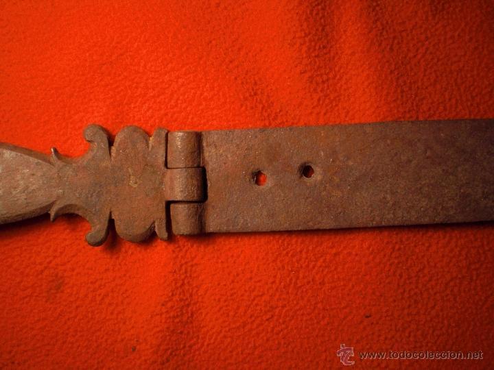 Antigüedades: CERRADURA MUY GRANDE LLAVE Y CERROJO PARA ARCA ARCON O BARGUEÑO FUNCIONA PERFECTAMENTE S XVIII - Foto 10 - 40151375