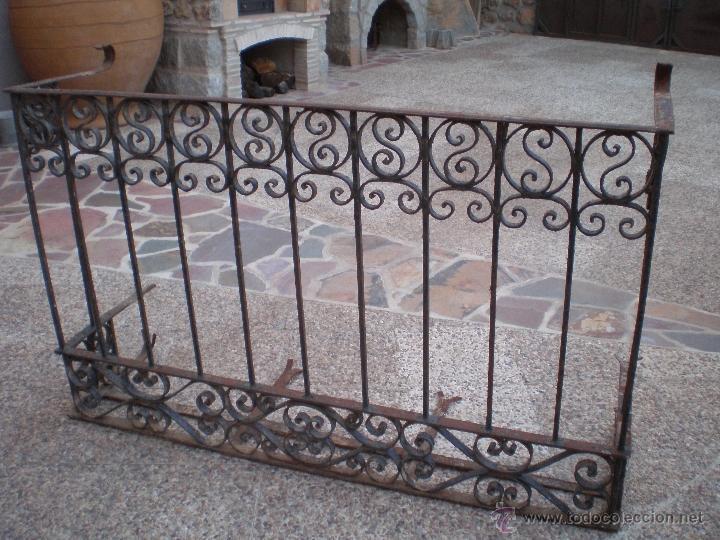 Antiguo balc n de hierro forjado forja vendido en venta directa 40157314 - Colgadores de hierro forjado ...