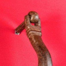 Antigüedades: LLAMADOR HIERRO FORJADO S- XVIII. Lote 40190514