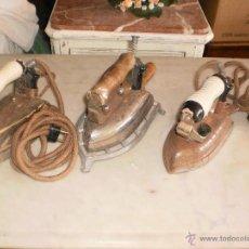 Antigüedades: LOTE DE TRES PLANCHAS ANTIGUAS. Lote 64319506