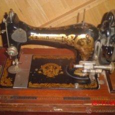 Antigüedades: MAQUINA DE COSER ANTIGUA FRISTER & ROOSMANN. Lote 40267263