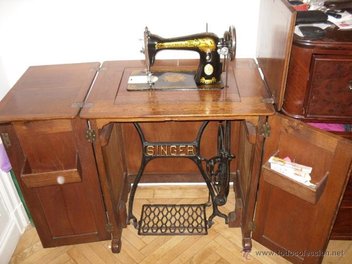 m quina de coser singer del siglo pasado mueble comprar