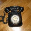 Teléfonos: TELEFONO DE PARED BAQUELITA NEGRO CTNE AÑOS 50 60 ,. Lote 40316730