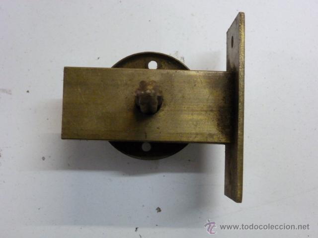 Antigüedades: Cerrojo de laton - Foto 2 - 40344095