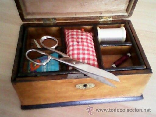 Antigüedades: ANTIGUA CAJA DE CASAMENTO TRADICION SUIZATODA EN MADERA MACIZA HECHA A MANO AÑOS 40,50.ESTA PERFECTA - Foto 3 - 40376848