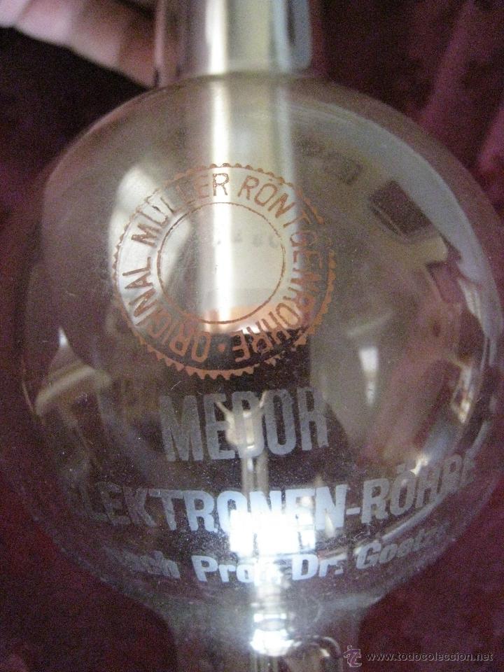 Antigüedades: TUBO DE RAYOS X MEDOR DE 1920. RADIOLOGIA. - Foto 11 - 40426871
