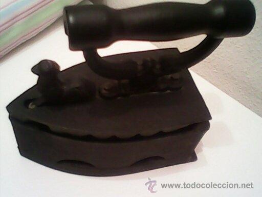 Antigüedades: ANTIGUA PLANCHA A CARBON EN MUY BUEN DE LOS AÑOS 30.40. - Foto 9 - 186062148