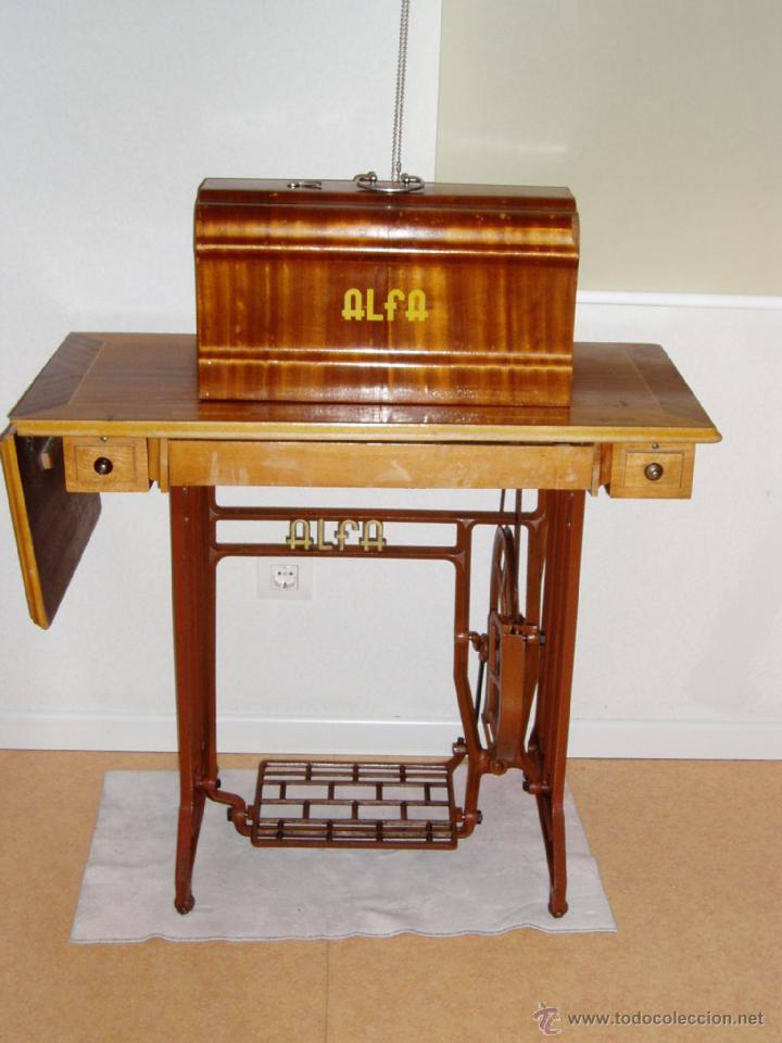 maquina de coser alfa royale con mueble comprar m quinas