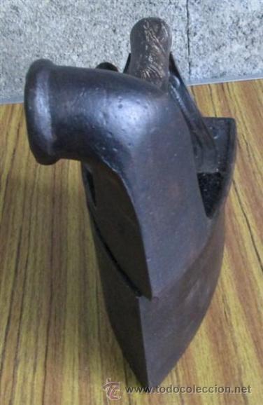 Antigüedades: PLANCHA CHIMENEA CARBON - Foto 5 - 40482612