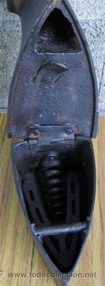 Antigüedades: PLANCHA CHIMENEA CARBON - Foto 6 - 40482612