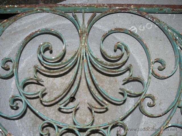 Antigüedades: ANTIGUA REJA DE HIERRO - Foto 2 - 42476547