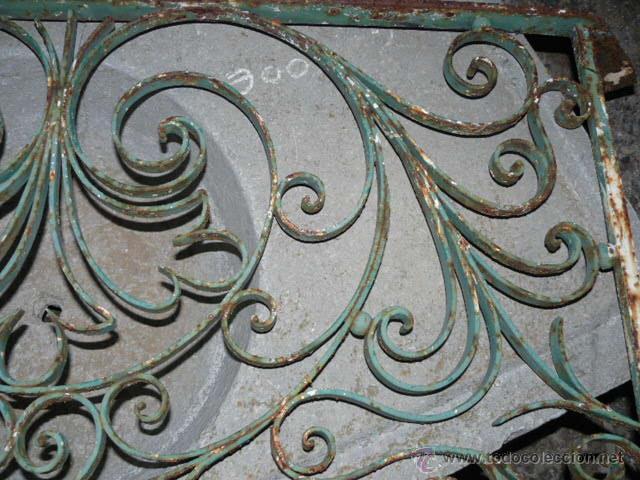 Antigüedades: ANTIGUA REJA DE HIERRO - Foto 3 - 42476547