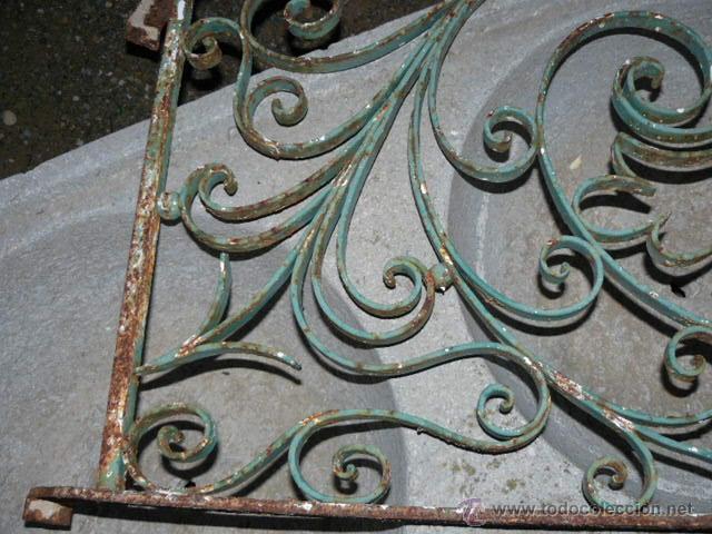 Antigüedades: ANTIGUA REJA DE HIERRO - Foto 4 - 42476547