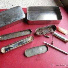 Antiquitäten - lote jeringuilla,quemador y mas herramientas medicina,instituto llorente madrid - 40621382