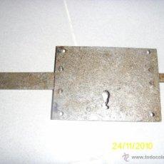 Antigüedades: CERRADURA DE HIERRO. Lote 40712633