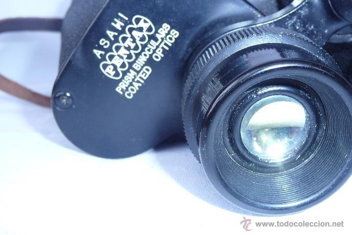Antigüedades: prismaticos antiguos ASAHI PENTAX - Foto 2 - 40806619