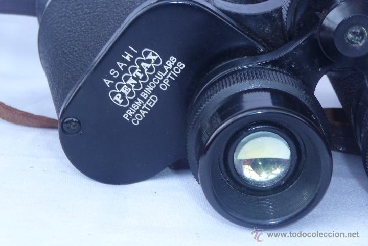 Antigüedades: prismaticos antiguos ASAHI PENTAX - Foto 3 - 40806619