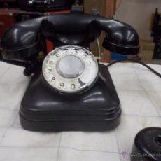 Teléfonos: TELEFONO DE SOBREMESA DE BAQUELITA. Lote 40817865
