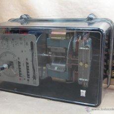 Antigüedades: ANTIGUO Y GRAN CONTADOR LUZ - RIESA 1994 TIPO STN 14 MD - 30 CMS 4.2 KGS - ELECTRICO. Lote 40830865