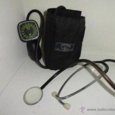 Antigüedades: CONJUNTO MEDICO ESTETOSCOPIO + TENSIOMETRO SPEIDEL KELLER DISYLEST. Lote 40847755