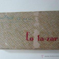 Antigüedades: ANTIGUA MAQUINA PARA AFILAR HOJAS DE AFEITAR CORTA-ZAR, CAJA ORIGINAL. Lote 40876339